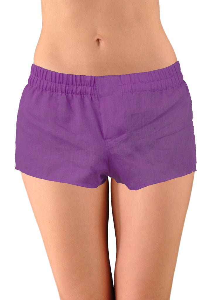World's Finest Women's Cotton Shorts: HandMade-To-Order