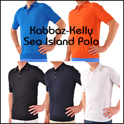 Kabbaz-Kelly's Incomparable Certified Sea Island Cotton Polo Shirt