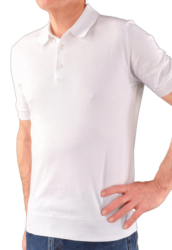 Sea Island Polo - White