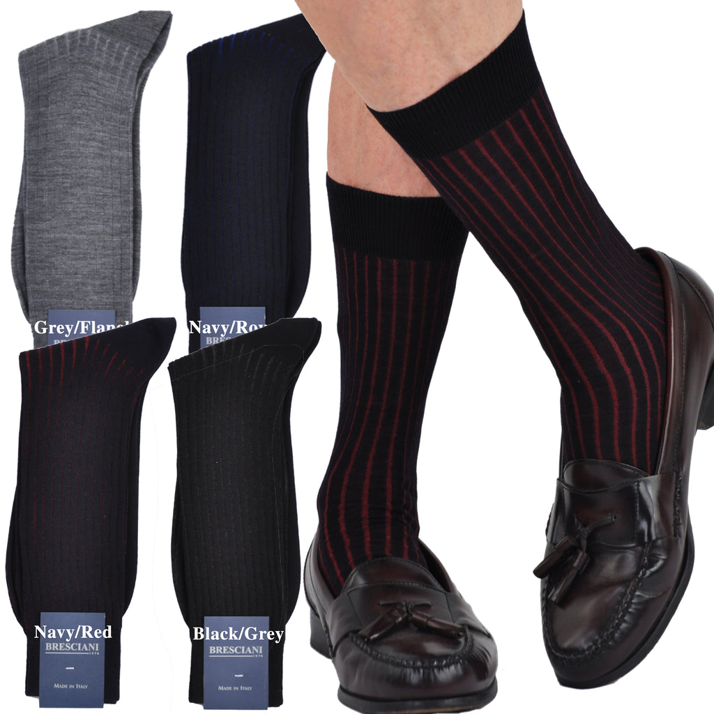 Incredible Vanisee in Merino/Cotton Blend Mid-Calf Socks
