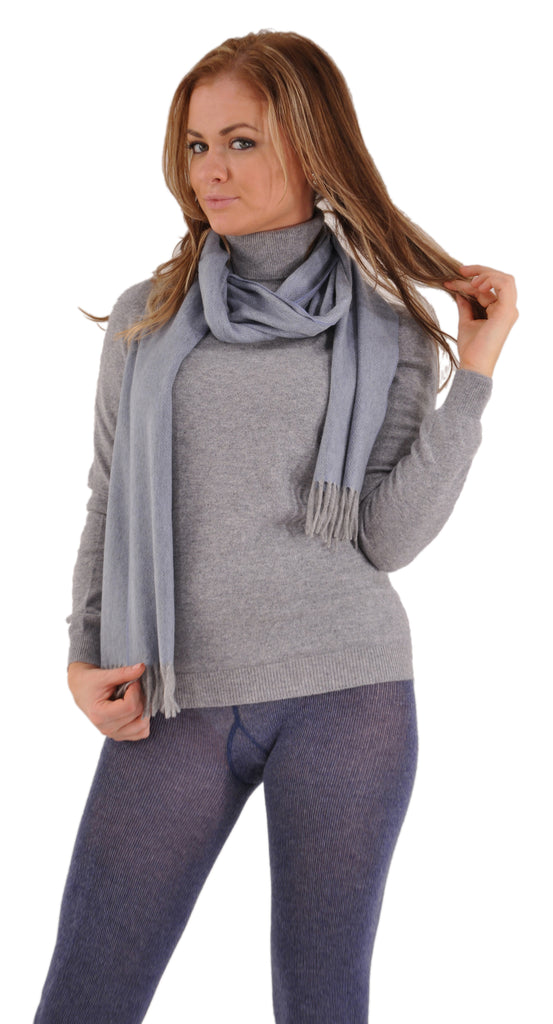 Blue, shown with our Bresciani Cashmere Leggings and Gran Sasso Cashmere Sweater