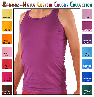 Custom Colors by Kabbaz-Kelly: Sea Island Cotton Tank Shirt
