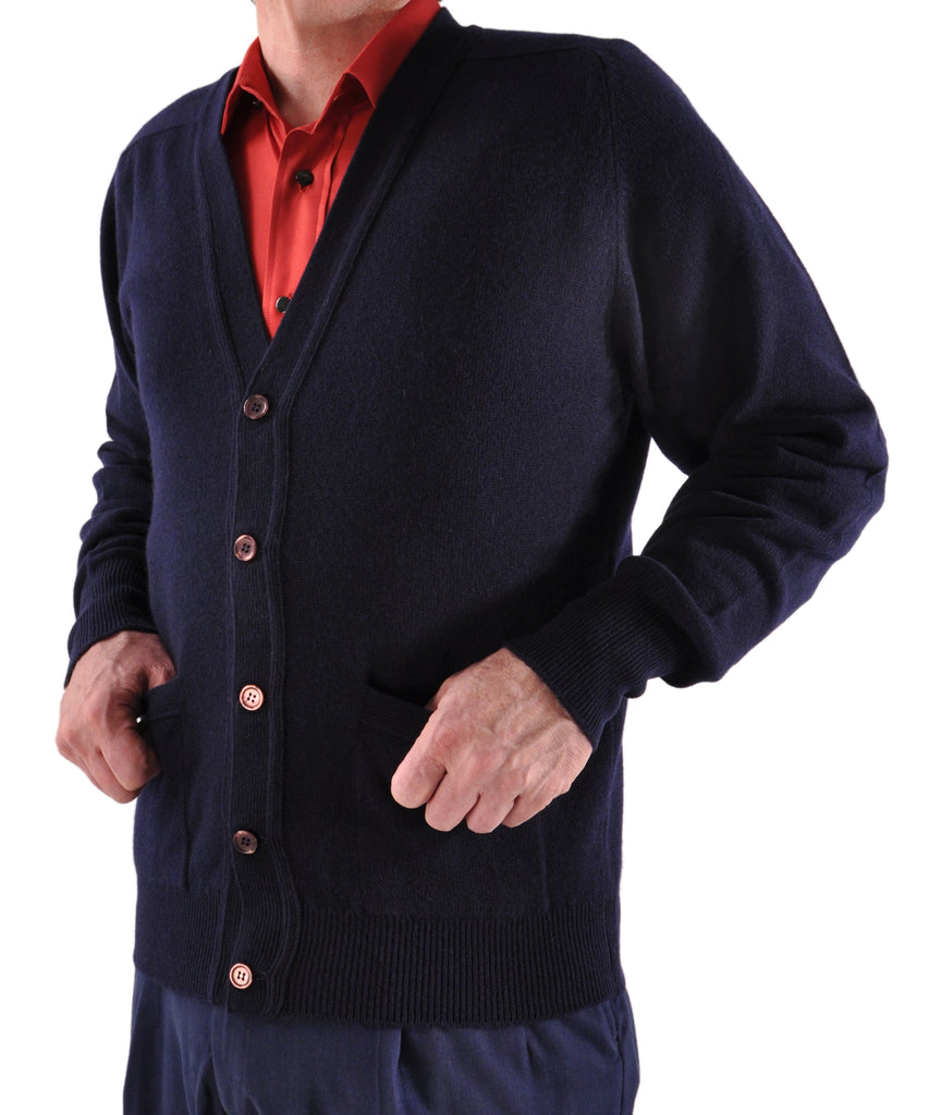 Cardigan in Navy