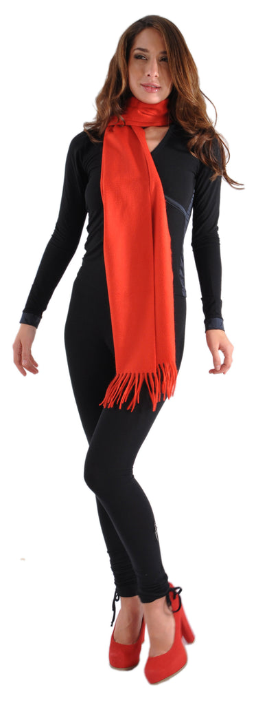"Alex Begg Cashmere Large Scarf from Scotland 14"" x 72"""