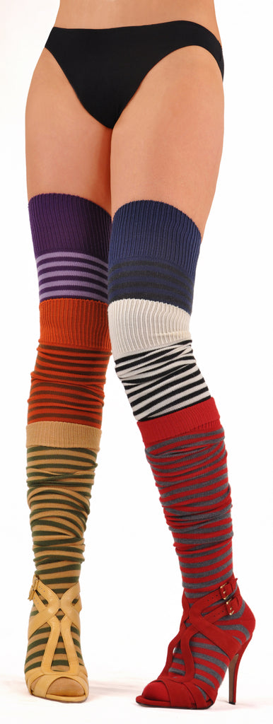 HOT Joelle Kelly Design ExtraFine Merino Thigh Highs Six Pair Gift Set