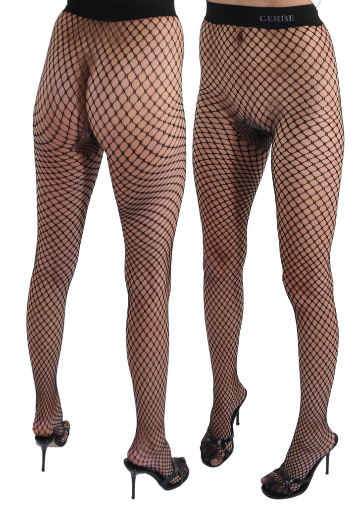 Gerbe-Paris Ibiza On Trend Fishnet Seamless French Pantyhose Tights