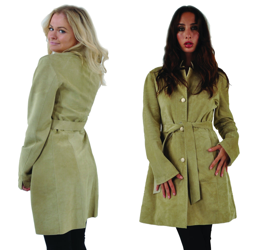 Women's Bespoke Leather Coat