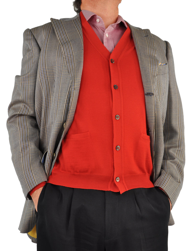 Ltd. Edition Italian ExtraFine Merino Wool Cardigan Sweater