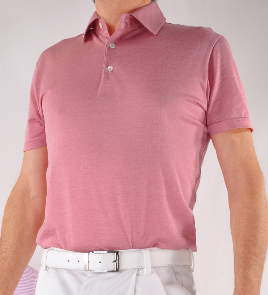 Kabbaz-Kelly by Zimmerli Exclusive Cotton & Silk Short Sleeve Polo Shirt