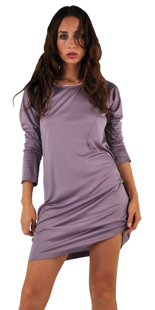 Zimmerli Luxury Long Sleeve Sleepshirt