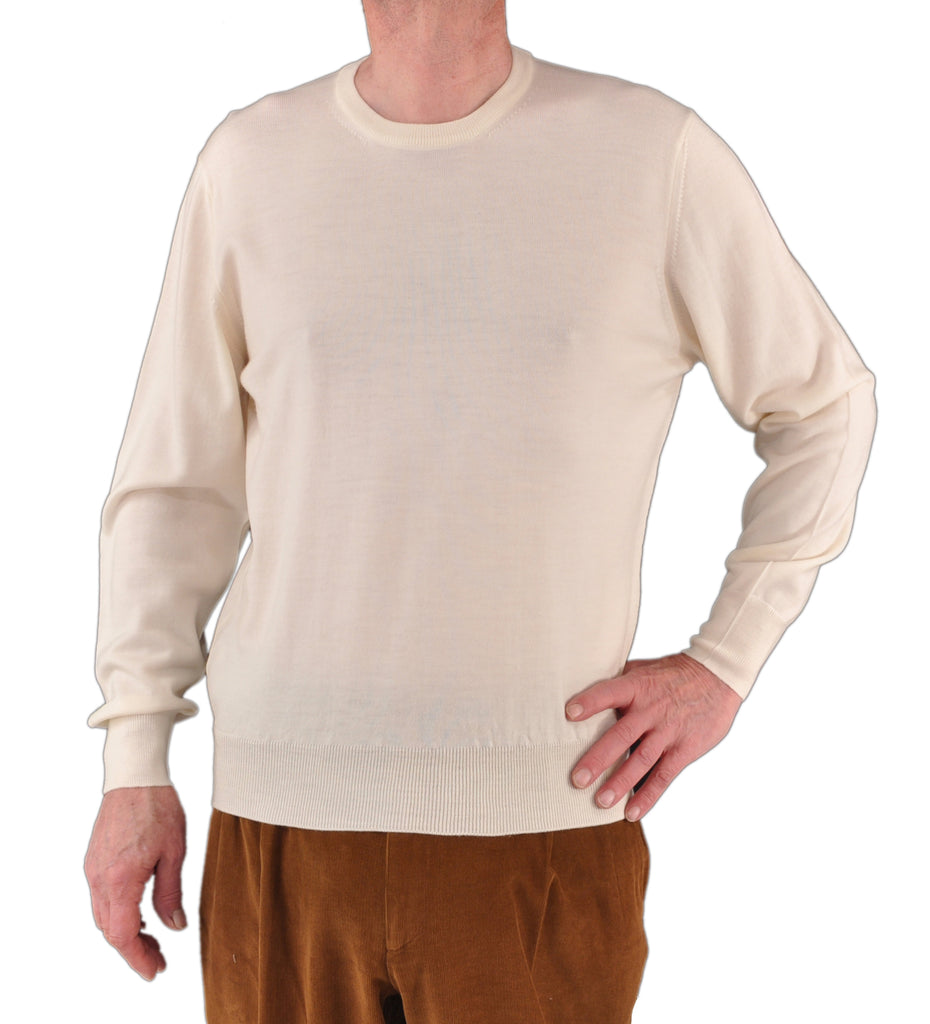 Ltd. Edition Italian ExtraFine Merino Wool CrewNeck Sweater