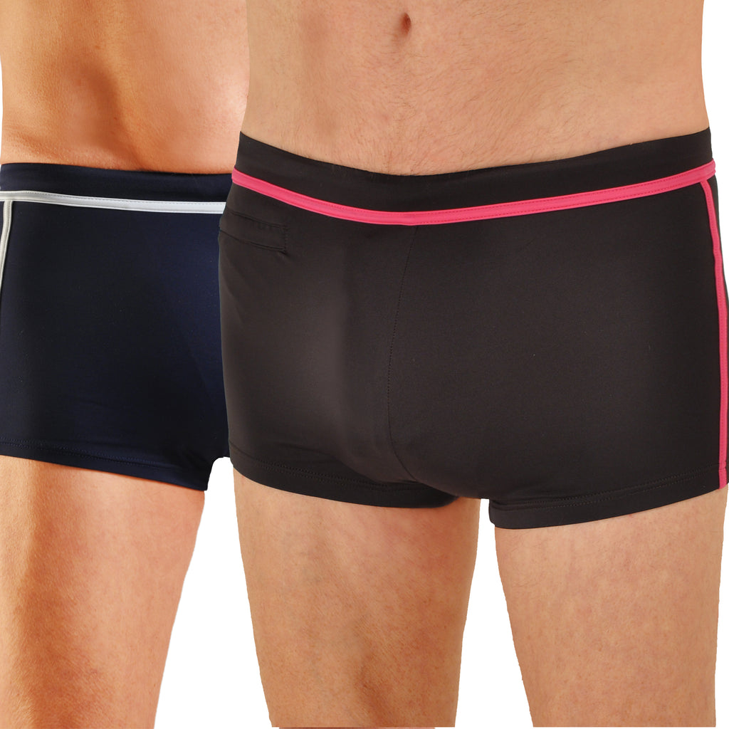 Men's Sean Connery's James Bond Inspired Sicile Boxer Brief Swimsuit
