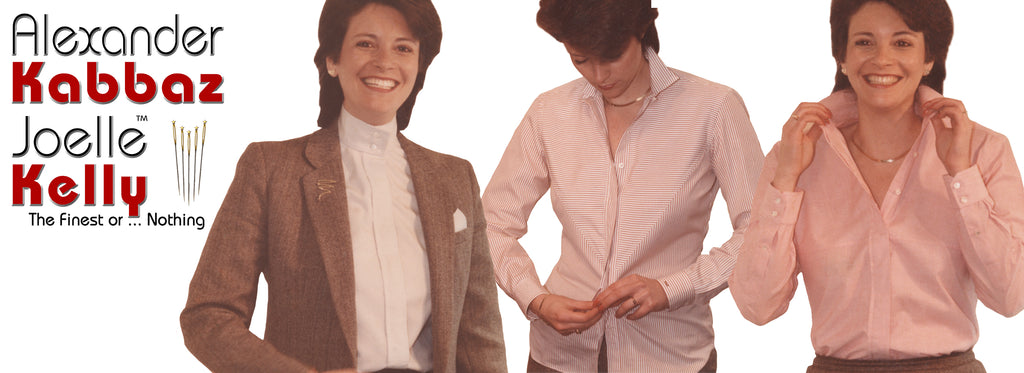 A few examples of bespoke blouses ...