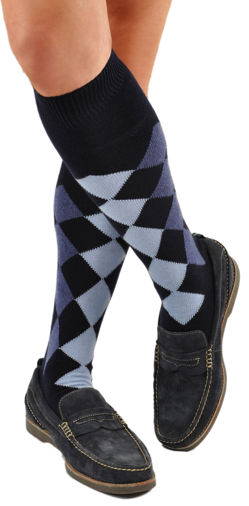 Blues (Shown in Over-the-Calf/Knee-High Length)