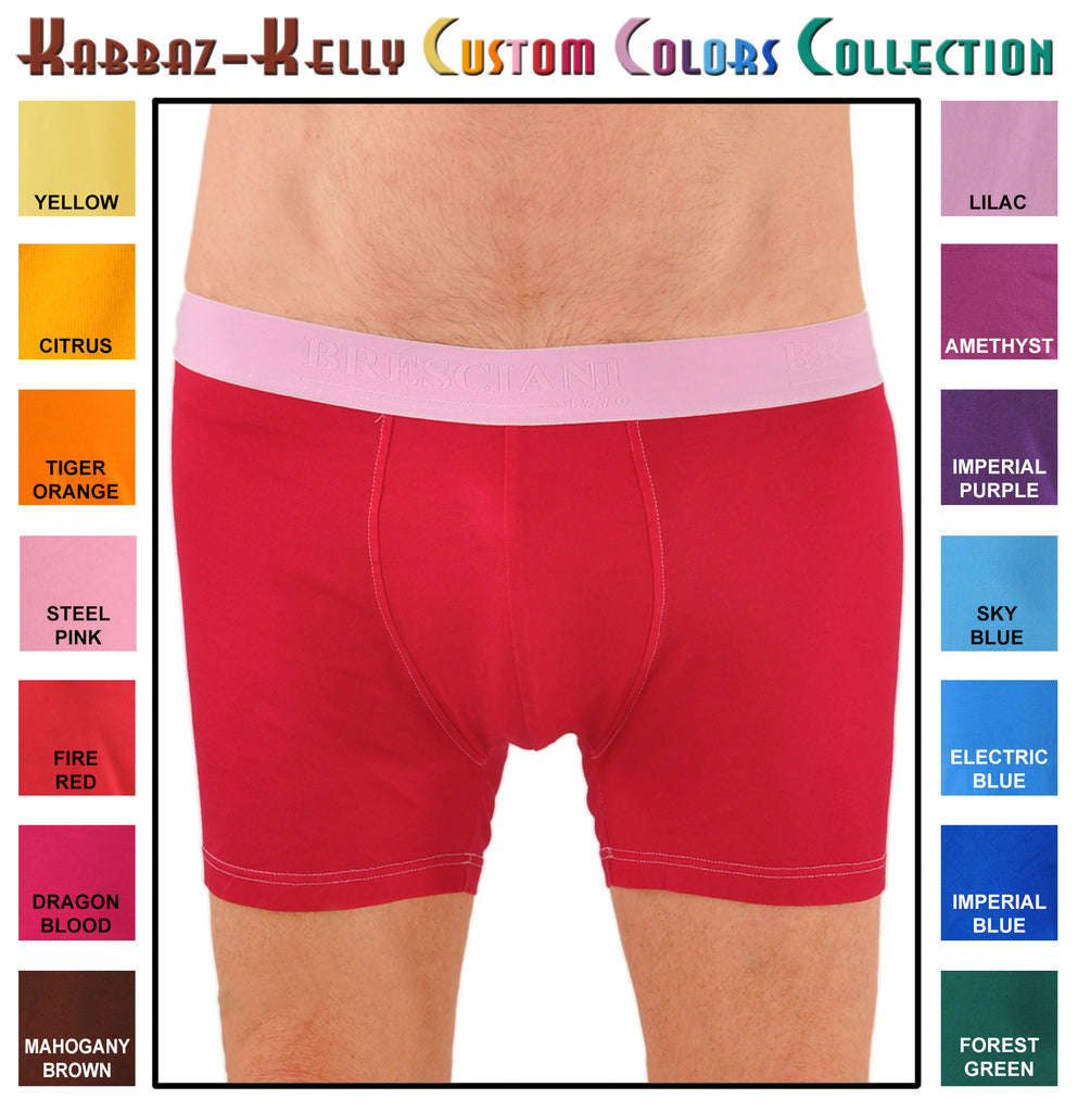 Custom Colors by Kabbaz-Kelly: Sea Island Cotton Boxer
