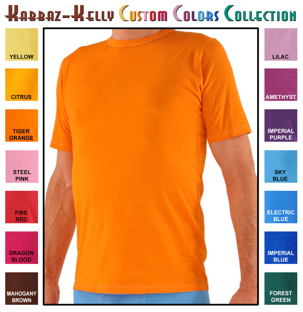 Custom Colors by Kabbaz-Kelly: Sea Island Cotton Crew Neck
