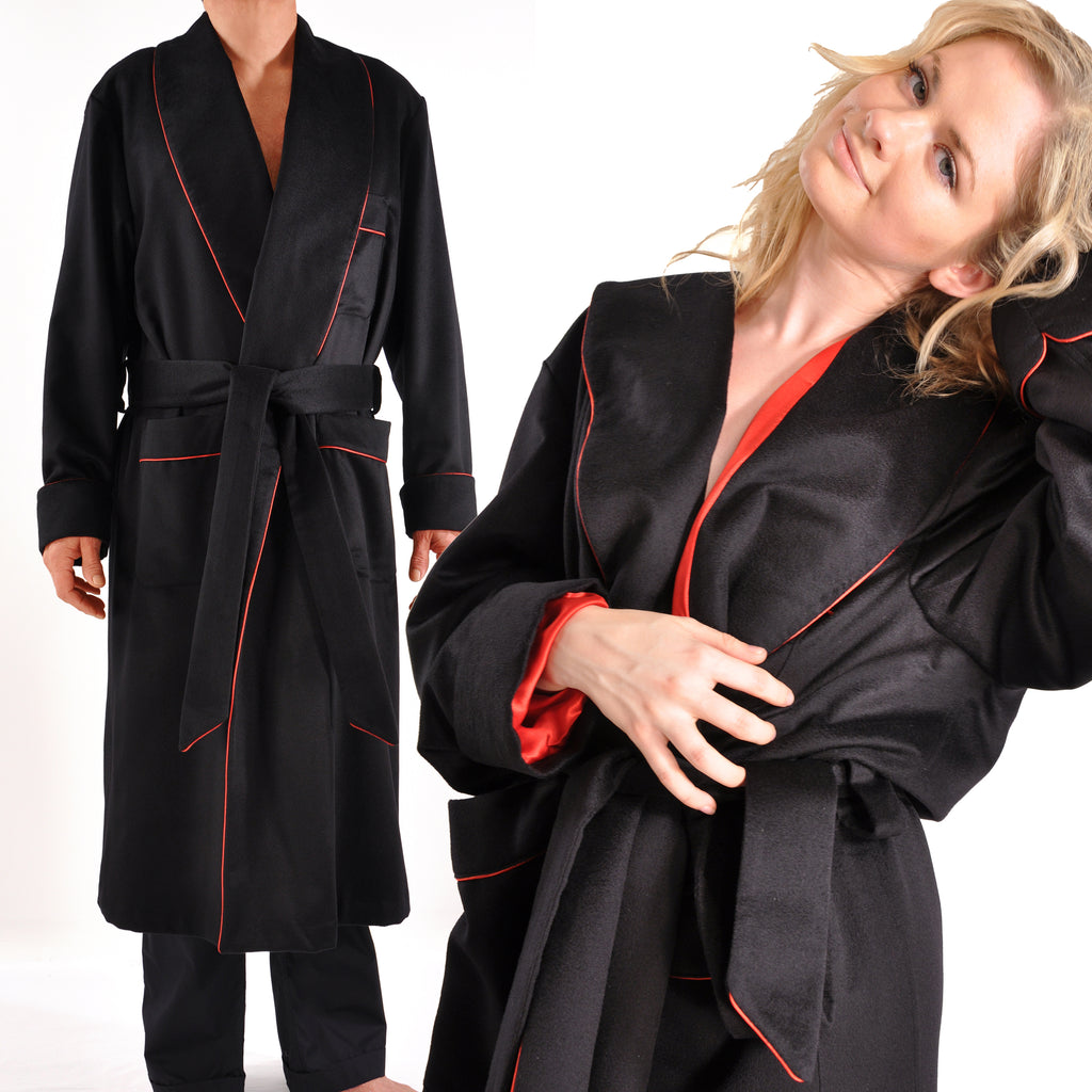 Our Own Ultrafine Silk-Lined Italian Cashmere Robe-Pure Luxury