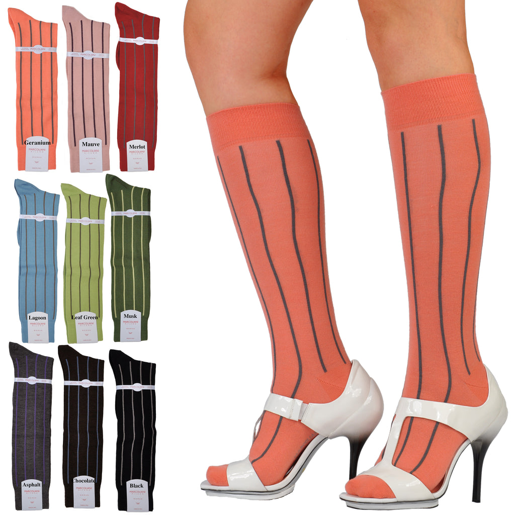 ExtraFine Merino Knee-High Fancy Circo Socks
