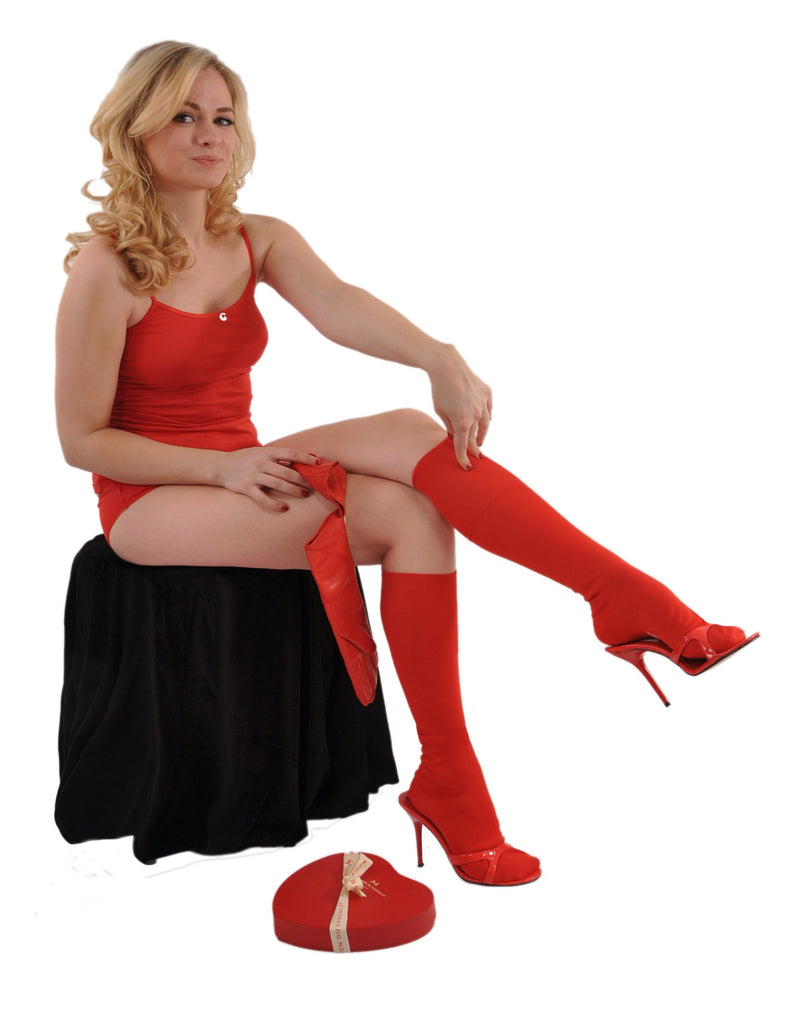 Regal Red (Shown in Knee High/Over-the-Calf Length)