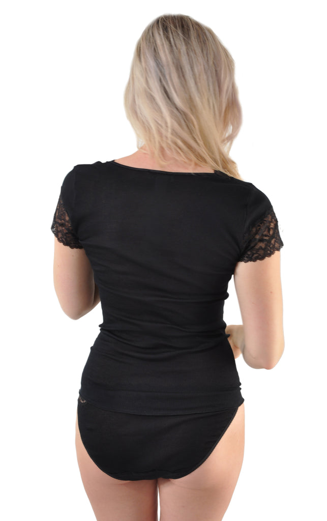 Luxurious Belle de Jour French Lace Cap Sleeve