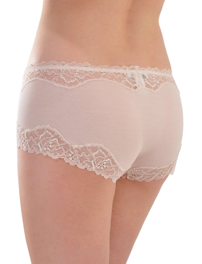 Luxurious Belle de Jour French Lace Boy Short Panty