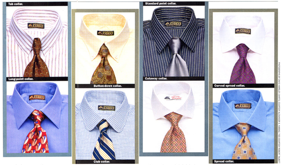 Kabbaz-Kelly shirts as seen in Forbes