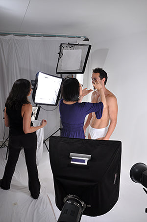 Behind the Scenes at a Luxury Clothing Photo Shoot