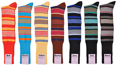 Bresciani's Lake Como Beach Cotton Socks