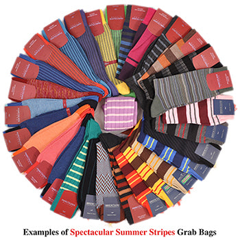 Spectacular Summer Solids Sock Grab Bag