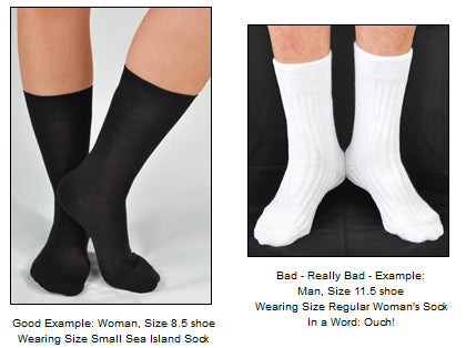 Men's vs. Women's Socks