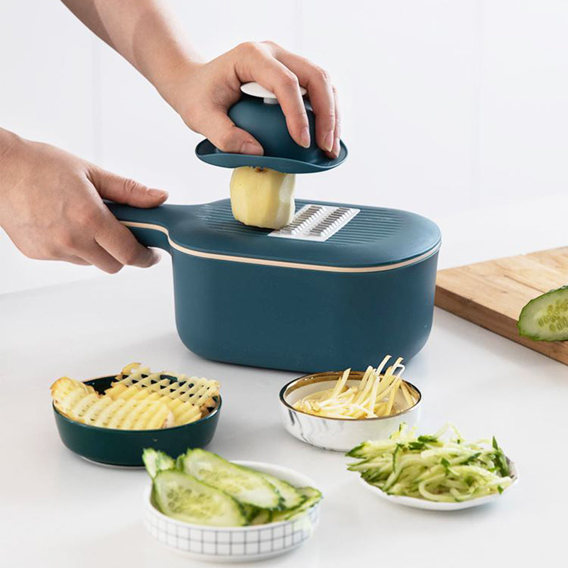 Vegetables Cutting Device with large container