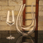 modern and luxurious wine Decanter Handmade