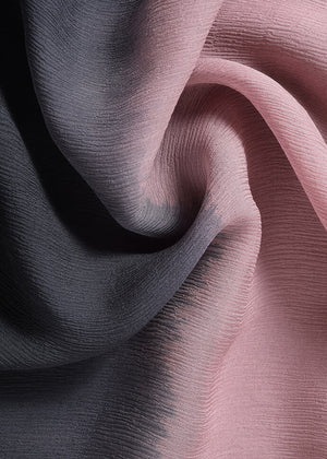 Blackberry Chiffon Silk Hijab