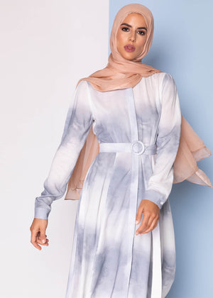 Blue Dust Maxi Dress Aab