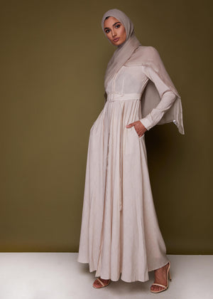 Bodhi Leaf Maxi Dress by Aab