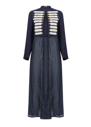 Cheratteras Jacket in Navy by Aab