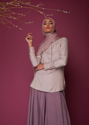 Collar Top in Cashmere by Aab