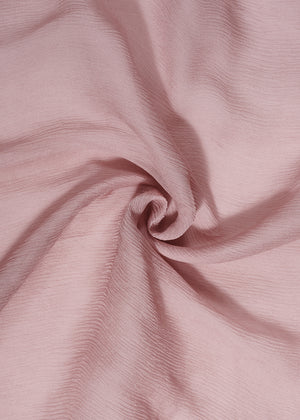 Muted Rose Chiffon Silk Hijab