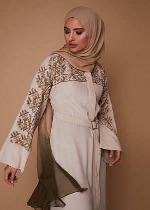 Cross Stitch Abaya by Aab