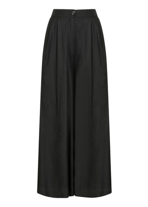 Culotte Trousers in Black by Aab