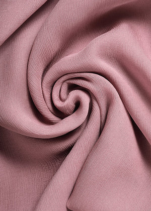 Elderberry Chiffon Silk Hijab