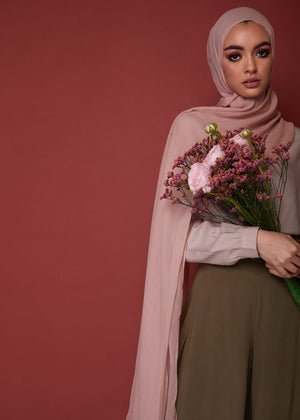 Full Flare Trousers in Khaki by Aab