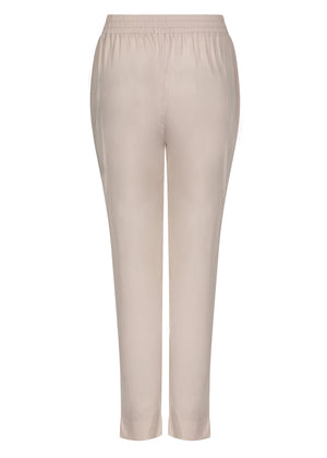 Gold Button Trousers Cashmere