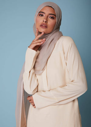 High Neck Midi Vanilla by Aab