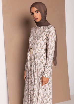 Linear Maxi Dress Aab