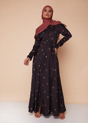 Midnight Garden Maxi Dress by Aab