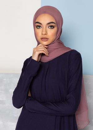 Mulberry Abaya Navy Aab