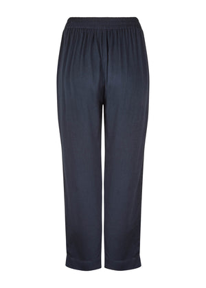 Loose Fit Trousers Black