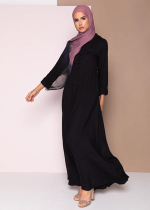 Pulsante Maxi Dress Black Aab