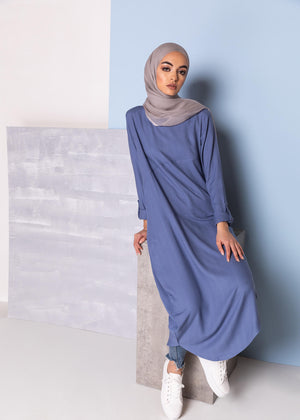 Side lit Midi Blue Aab